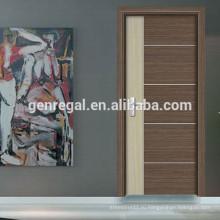 Жесткий класс ХДФ спальни меламина деревянные двери