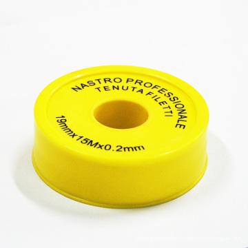 Меньшая остаточная смазка ПТФЭ лента уплотнения резьбы, используемая в машинах