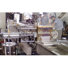 Price of CE plastic extrusion machine for PC+ABS/ PA+ABS/CPE+ABS/ PP+EPDM/ PA+EPDM/ PP+SBS