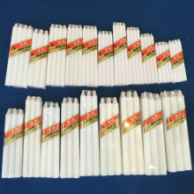 Africa Usa White Stick Benin Candle Bougies Velas