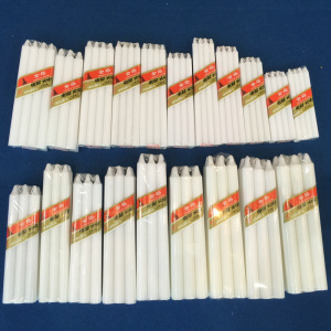 África usa White Stick Benin Candle Bougies Velas