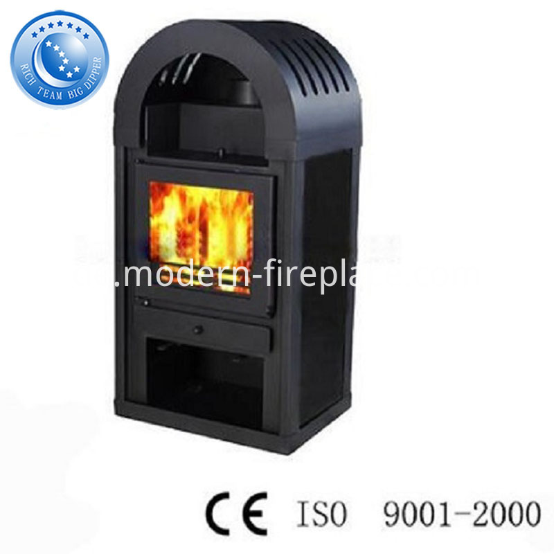 Wood Coal Burning Stove With Oven