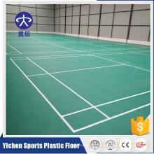 billig Tanzboden Teppich Badminton Gericht PVC Boden crossfit Bodenbelag
