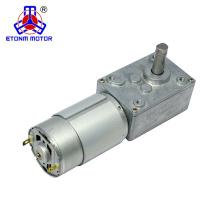 12V 80kg.cm Worm Gear Motor 7PPR Encoder for CNC Machine
