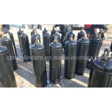 40L Acetylene Cylinders W/ Valves & Caps