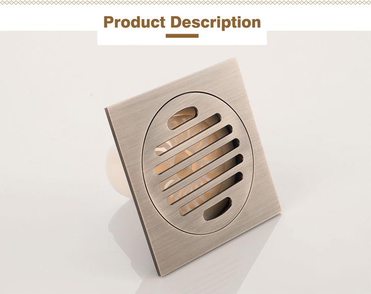 Bathroom anti-odor Floor drain