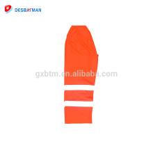 fr Pantalon de travail orange 20471 avec pantalon de sécurité à rayures réfléchissantes