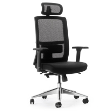 Günstige Büro Kommerziellen Lift Swivel High Quality Executive Mesh und Stoff Stuhl