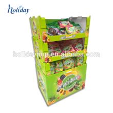Présentoirs de jouets de peluche de carton, présentoirs chauds de jouets de magasin de détail