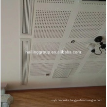 Acoustic Perforated Gypsum Board Good Price