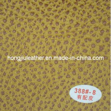 Couro do plutônio de Hongjiu-Profissional para o sofá