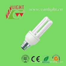 U forma serie CFL lámpara lámpara fluorescente (VLC-3UT3-13W-B22)