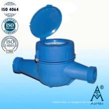Многоструйный счетчик сухого типа пластиковые холодной воды метр