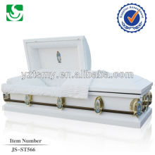 JS-ST566 American Style 20 Gage steel caskets