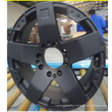 oem black low price replica car wheel