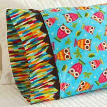Printing stitching cotton pillowcase
