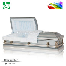 wholesale velvet lining 16 gauge metal caskets china
