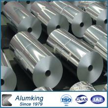 Double feuille de rouleau en aluminium avec un côté brillant