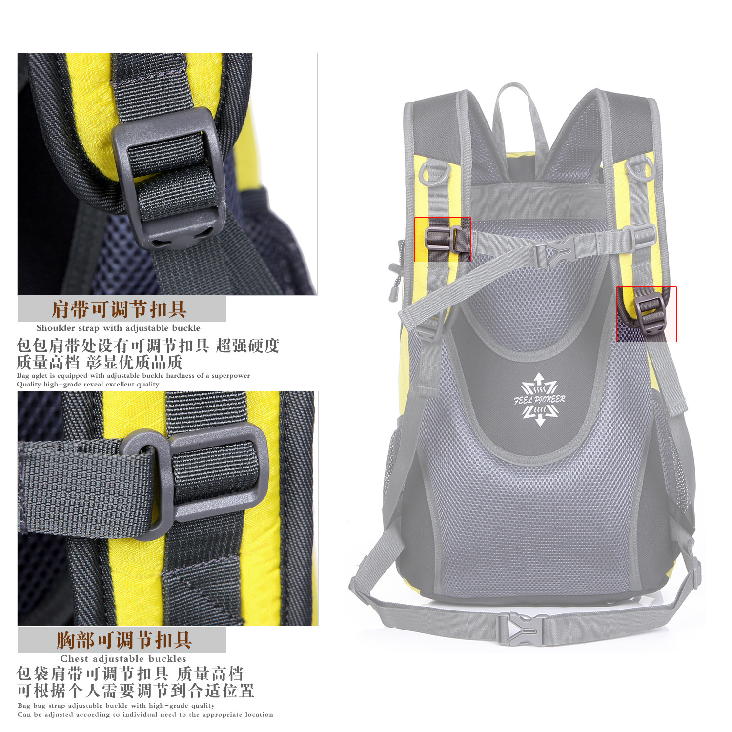 Wholesale Outdoor Unisex Rain Cover backpack