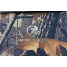 100% twill floresta camuflagem tecido de algodão de impressão (zcbp258)
