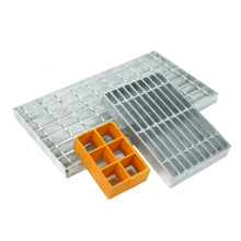 channel steel metal building materials Hot Dipped Galvanizedsteel grate for road drainage steel grating
