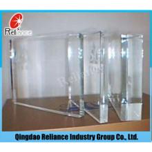 Vidro flutuante ultra claro com preço competitivo para construção