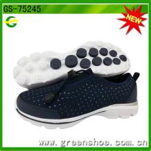 Sapatas novas da sapatilha das mulheres populares da fábrica GS-75245 de China