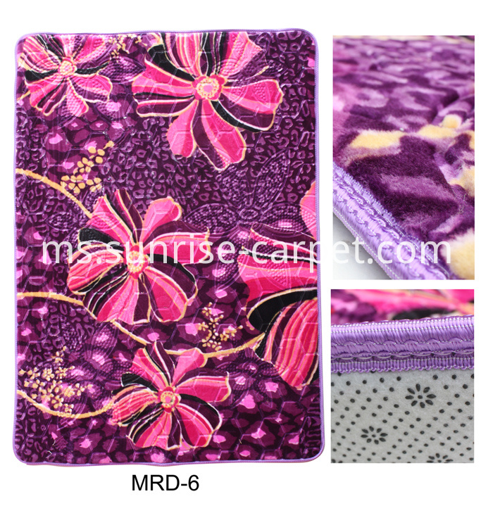 Raschel Embossing Carpet