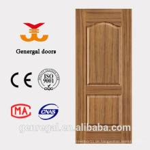 Interior billigen Preis 2 Panel HDF Moulding Tür Design