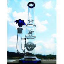 18-ти дюймовый согревающий сотовый шар Birdcage Perc для курения стеклянной курительной трубки