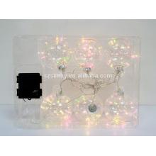 Высокое качество LED медный провод строка Рождественские огни