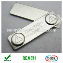 support aimant métal 45x13mm