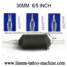 Aperto descartável da tatuagem do silicone de 6 / 5inch 30mm