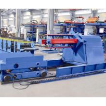 Certifié CE et ISO Decoiler de 10 tonnes avec la voiture de bobine