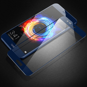 HD Blue Tempered Glass voor Huawei Honor V9