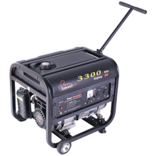 CE 6.7HP 200cc 3300 Watts Generadores de gasolina con salida máxima (WK3300)