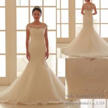 Последние Дизайн Русалка Дизайн Бальное Платье Нижняя Свадебные Платья 2017 Для Новобрачных