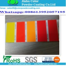 Electrostatic spray Luminous color powder coating