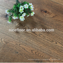 OAK ANTIQUE BLACK TEXTURE Parement en bois reconstitué