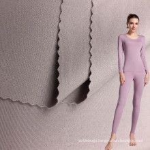 wholesale 75 polyamide 25 Spandex 4 Way Stretch Double Face Fabric for Sportswear