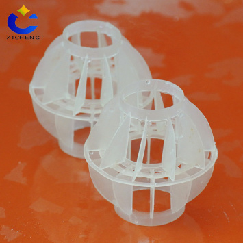 Exhaust gas treatment equipment Anti-corrosion filter ball