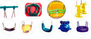 Outdoor playgrond swing equipment parts