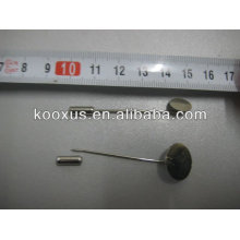Jewelry Flat Pad Pin with round head