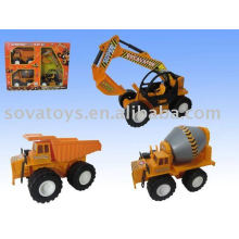 construction set model trucks toy