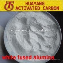 Pulverização de areia de óxido de alumínio branco