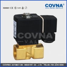 "Pilot operating diaphragm 3/4"" brass water 2 way solenoid valve"