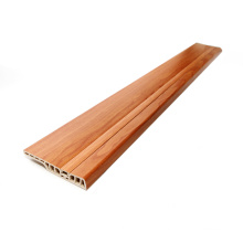 Wear Resistant PVC Skirting Boards UV Coating Matched Your Floor