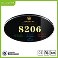 Smart Hotel Electrical Door Number Plate