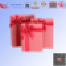 Free sample customized clear folding plastic gift box