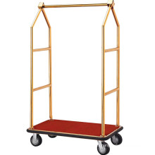 High Quality Stainless Steel Lobby Trolley